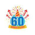 Anniversary sixty years number