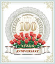 100 anniversary Royalty Free Stock Photo