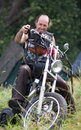 Annual international bikers festival Royalty Free Stock Photos