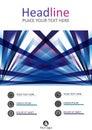Annual report cover design. A4. Vector.