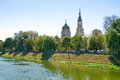 Annunciation Cathedral, Kharkiv Royalty Free Stock Photo