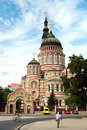 Annunciation cathedral in kharkiv ukraine the a summer day Royalty Free Stock Photography
