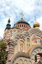 Annunciation cathedral in kharkiv ukraine the a summer day Royalty Free Stock Images