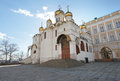 Annunciation cathedral moscow kremlin inside russia Royalty Free Stock Images