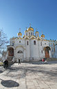 Annunciation cathedral moscow kremlin inside russia Royalty Free Stock Photos