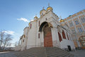 The annunciation cathedral moscow kremlin of russia Royalty Free Stock Image