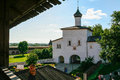 Annunciation gate church of the Saviour Monastery of St. Euthymius, Russia, Suzdal Royalty Free Stock Photo