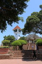 ANPING FORT, TAIWAN - APRIL 14, 2015 Royalty Free Stock Photo