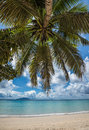 Anse beau vallon tropical beach mahe island seychelles image of Royalty Free Stock Image