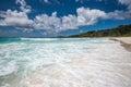 Anse coco tropical beach la digue island seychelles perfect Royalty Free Stock Photo