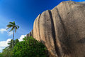 Anse Source d'Argent, la Digue, Seychelles Royalty Free Stock Image