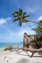 Anse Source d'Argent, La Digue, Seychelles Royalty Free Stock Photos