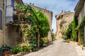 Ansouis in the luberon hill top village of provence Royalty Free Stock Photo