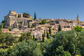 Ansouis in the luberon hill top village of provence Royalty Free Stock Photography
