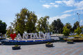 Antalya city symbol, I love Antalya Royalty Free Stock Photo