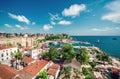 Antalya cityscape Royalty Free Stock Photo