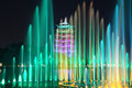 Antalya Expo Xi'an long musical fountain Royalty Free Stock Photo