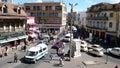 Antananarivo madagascar traffic and people walking through the streets of s capital Royalty Free Stock Photo