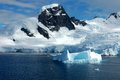 Antarctica icebergs in the antarctic peninsula Stock Images
