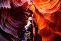 Antelope Canyon, Arizona Royalty Free Stock Photography