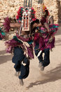 Antelope mask and the Dogon dance, Mali. Stock Image