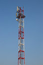 Antena tower Stock Images