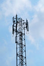 Antenna with sky Royalty Free Stock Photo