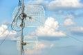 Antenna on the sky Royalty Free Stock Photo