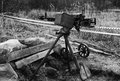 Anti-aircraft guns, authentic machine gun during the second world war
