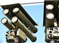 Anti-aircraft missile system Royalty Free Stock Photos