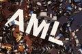 Anti Money Laundering Concept AML Royalty Free Stock Photo