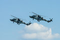 An anti submarine and anti shipping helicopter agustawestland aw wildcat berlin germany june black cats x royal navy display team Royalty Free Stock Images