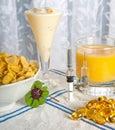Anti swine flu breakfast 3 Royalty Free Stock Photo