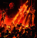 Antibalas (afrobeat band) performance at Heineken Primavera Sound 2014 Festival Royalty Free Stock Photo