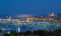 Antibes By Night On The French...