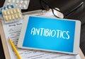 ANTIBIOTICS and Antibiotics - Printed Diagnosis mix therapy drug