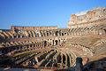 Antic theater (Colosseo) Stock Image