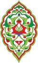 Antiek ottoman illustratieontwerp Royalty-vrije Stock Afbeeldingen