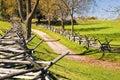 Antietam Civil War Battle Site Royalty Free Stock Photo