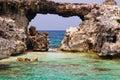 Antigua - Devil's Bridge Royalty Free Stock Photography