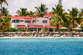 Antigua - Sandals Dickenson Bay condo resort Stock Photo