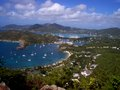 Antigua shirley heights lookout jpg from in you look over english and falmouth harbours Stock Photo