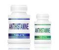 Antihistamine medication. Royalty Free Stock Photo