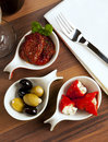 Antipasti dish Stock Images