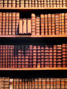 Antiquarian books Royalty Free Stock Photo