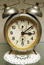 Antique alarm clock Stock Photography