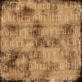 Antique Alphabet Background Royalty Free Stock Image