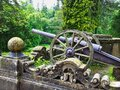 Antique Artillery Canon, Peles Castle, Romania Royalty Free Stock Photo