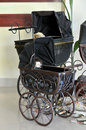 Antique Baby Carriages Stock Photography