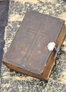 Antique bible Royalty Free Stock Photo